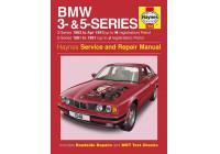 Haynes Workshop Manual BMW 3- och 5-serie bensin (1981-1991)