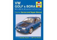 Haynes Workshop manual VW Golf & Bora 4-cyl. bensin och diesel (2001-2003)