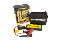 Hummer H1 Mini Startbooster / Laddare 15.000mAH + LED-lampa