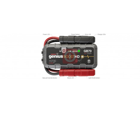 Noco Genius Battery Booster 12V 2000A GB70, bild 10