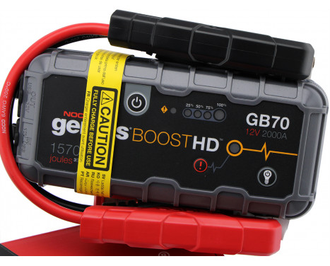 Noco Genius Battery Booster 12V 2000A GB70, bild 4