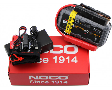 Noco Genius Battery Booster 12V 2000A GB70, bild 2