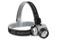 Pannlampa med 7 mycket starkt vitt LEDS