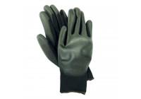 Pu-flex svart handske mt.  9 L / XL
