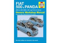 Haynes verkstadshandbok Fiat 500 & Panda (2004-2012)