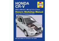 Haynes verkstadshandbok Honda CR-V bensin och diesel (2002-2006)