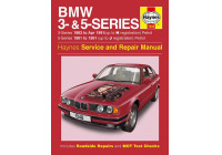 Haynes Workshop Manual BMW 3- och 5-serie bensin (1981-1991)