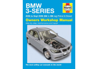 Haynes Workshop manual BMW 3-serie bensin och diesel (2005 - Sept 2008)