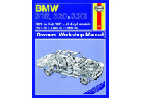 Haynes Workshop manual BMW 316, 320 och 320i (4-cyl) (1975-1983) klassisk utskrift