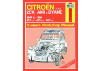 Haynes Workshop manual Citroën 2CV, Ami & Dyane (1967-1990)