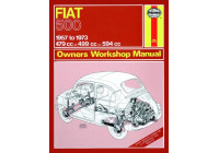 Haynes Workshop manual Fiat 500 (1957-1973) klassisk utskrift