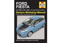 Haynes Workshop manual Ford Fiesta bensin och diesel (2008-2012)