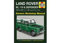 Haynes Workshop manual Land Rover 90, 110 och Defender diesel (1983-2007)