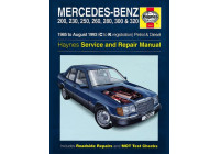 Haynes Workshop manual Mercedes-Benz 124 bensin och diesel (1985-aug 1993)