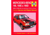 Haynes Workshop Manual Mercedes-Benz 190, 190E & 190D Bensin & Diesel (1983-1993)