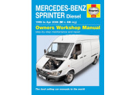 Haynes Workshop manual Mercedes-Benz Sprinter diesel (1995 - apr 2006)