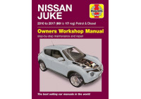 Haynes Workshop manual Nissan Juke bensin och diesel (2010 - 2017)