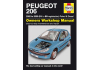 Haynes Workshop manual Peugeot 206 bensin och diesel (2002-2009)