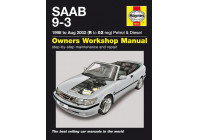 Haynes Workshop manual Saab 9-3 bensin och diesel (1998-aug 2002)