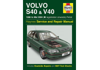 Haynes Workshop manual Volvo S40 och V40 bensin (1996 - mars 2004)