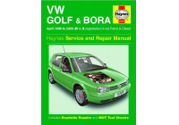 Haynes Workshop manual VW Golf & Bora bensin och diesel (april 1998 - 2000)