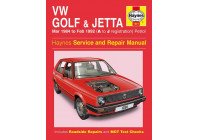 Haynes Workshop manual VW Golf & Jetta Mk 2 bensin (1984-feb 1992)