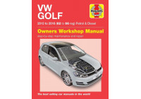 Haynes Workshop manual VW Golf bensin och diesel (2013-2016)