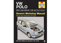Haynes Workshop manual VW Polo bensin och diesel (2002 - sep 2009)