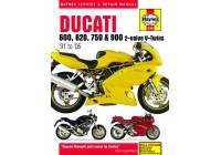 Ducati 600, 620, 750 & 900 2-ventil V-Twins (91-05)