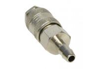 Snabbkoppling 1/4 tums slangstöd 9mm.