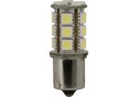 18Q BA15S LED Lamp 12V Wit, per stuk (5050-3 chips)