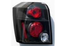 Set Achterlichten passend voor Dodge Caliber 2006- - Zwart (excl. mistlamp)