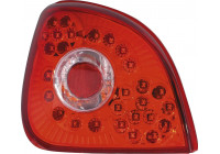 Achterlichten Ford Fiesta  96-02 LED Red / Clear