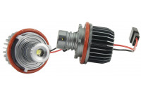 Set BMW Angel-Eyes LED's - 10 Watt Cree-LED - Wit