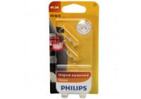 Philips 12516B2 1,2W T5 wedgebase Premium 12V - 2 stuks