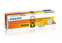 Philips 12961CP T10 5W wedgebase 12V doosje 10 stuks