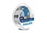 Philips Whitevision 12258WHVSM H1 55W 12V - 2 stuks