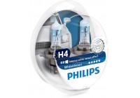Philips WhiteVision 12342WHVSM  H4 60/55W 12V - 2 stuks