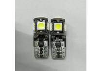 T-10 LED 5Q Lampen 12V Xenon-Optiek Wit, set à 2 stuks, met CAN-bus ondersteuning