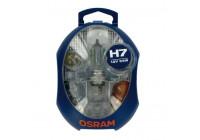 Osram reservelampenset 12V H7