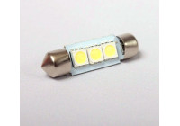 BudgetLED Festoon 39mm Wit 3x5050SMD 2 stuks