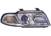 Set Koplampen DRL-Look Audi A4 B5 1995-1998 - Chroom