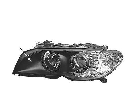 DUBBELE KOPLAMP VOOR L. XENON WITTE Knipperlicht   A.L. 0653983M Magneti Marelli