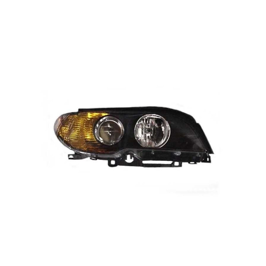 DUBBELE KOPLAMP VOOR R. H7+H7 ORANJE Knipperlicht  A.L. 0653962M Magneti Marelli, afbeelding 2
