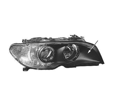 DUBBELE KOPLAMP VOOR R. H7+H7 WITTE Knipperlicht   A.L. 0653968M Magneti Marelli