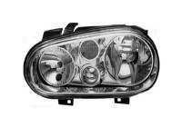 KOPLAMP LINKS MET KNIPPERL. GOLF +M.L.(H1+H7+H3)VALEO