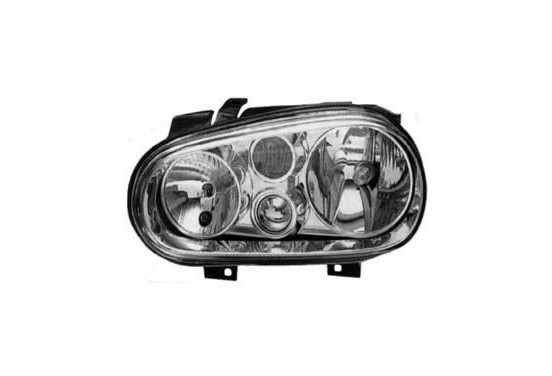 KOPLAMP LINKS MET KNIPPERL. GOLF +M.L.(H1+H7+H3)VALEO 086749