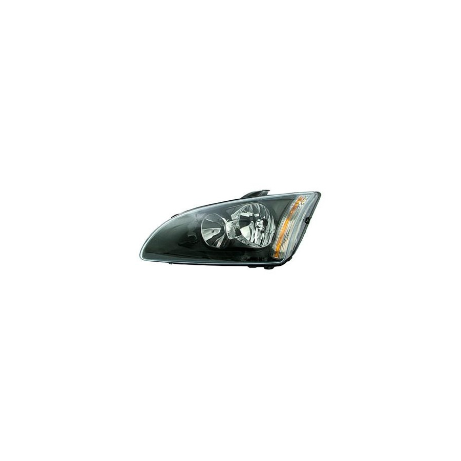 KOPLAMP LINKS MET KNIPPERL. H7+H1 Zwarte Rand VISTEON 1863963N