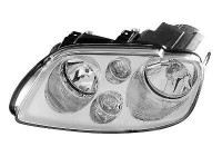 KOPLAMP LINKS MET KNIPPERL. XENON D2S+H7 Chrome    AL