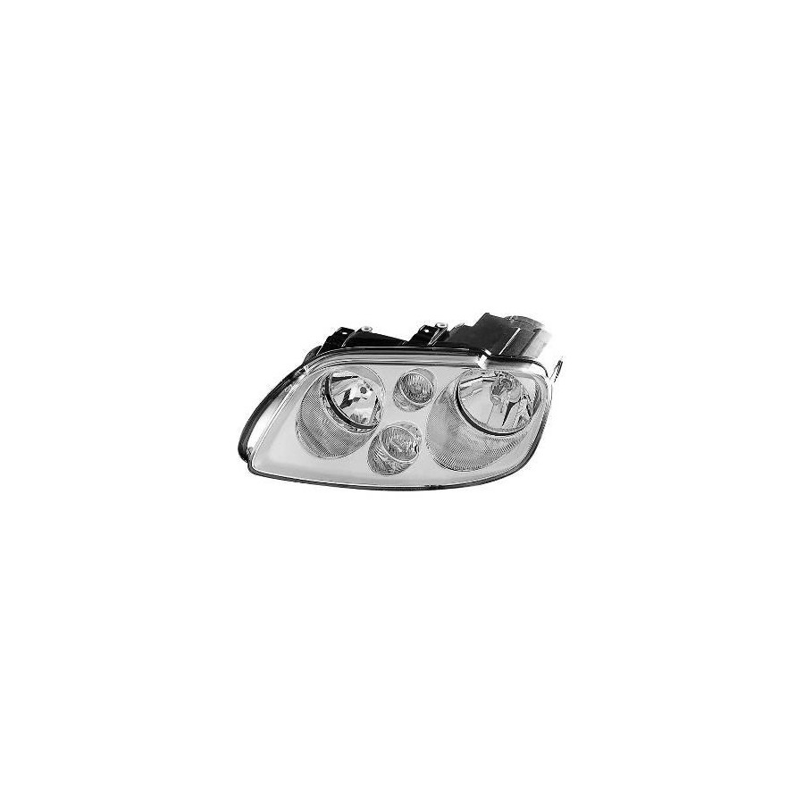 KOPLAMP LINKS MET KNIPPERL. XENON D2S+H7 Chrome    AL 5856983M Magneti Marelli